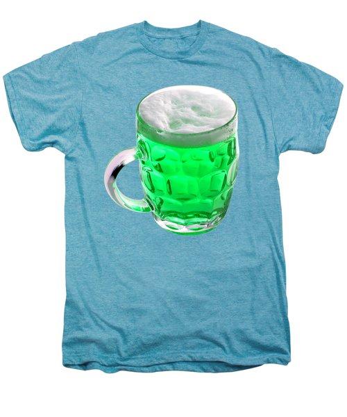 Green Beer Men's Premium T-Shirt by Stephanie Brock