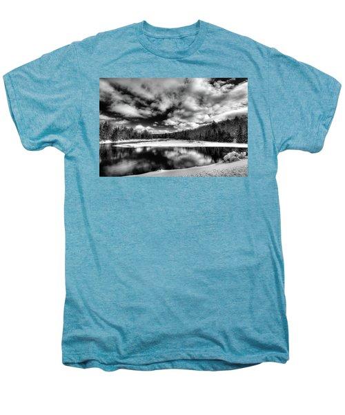 Men's Premium T-Shirt featuring the photograph Green Bridge Solitude by David Patterson