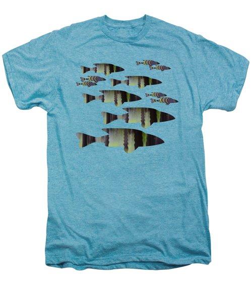 Green Fish Men's Premium T-Shirt