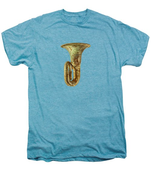 Green Horn Up Men's Premium T-Shirt by YoPedro