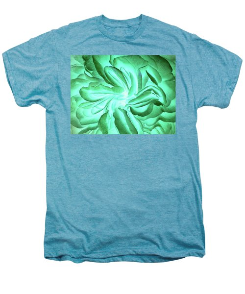 Green No. 21-2 Men's Premium T-Shirt by Sandy Taylor