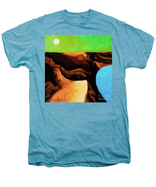 Green Skies Men's Premium T-Shirt