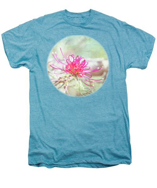 Men's Premium T-Shirt featuring the photograph Grevillea by Linda Lees