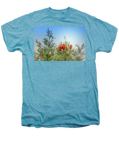 Grevillea With Moon Men's Premium T-Shirt