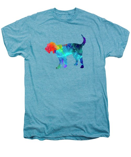 Griffon Nivernais In Watercolor Men's Premium T-Shirt