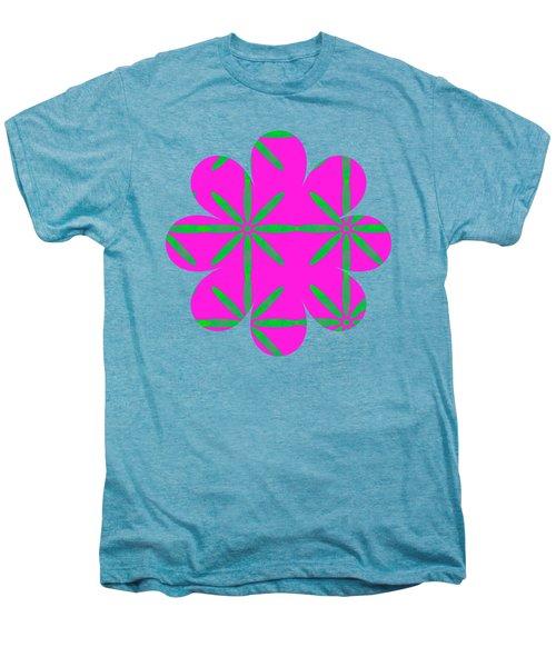 Groovy Flowers Men's Premium T-Shirt