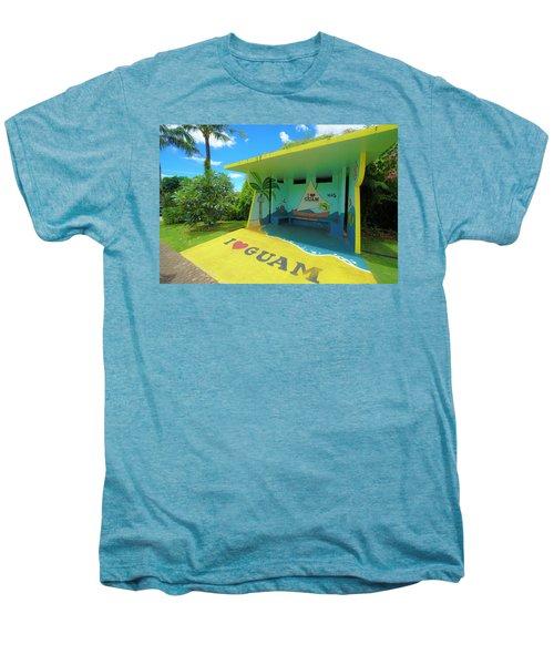 Guam Bus Stop Men's Premium T-Shirt