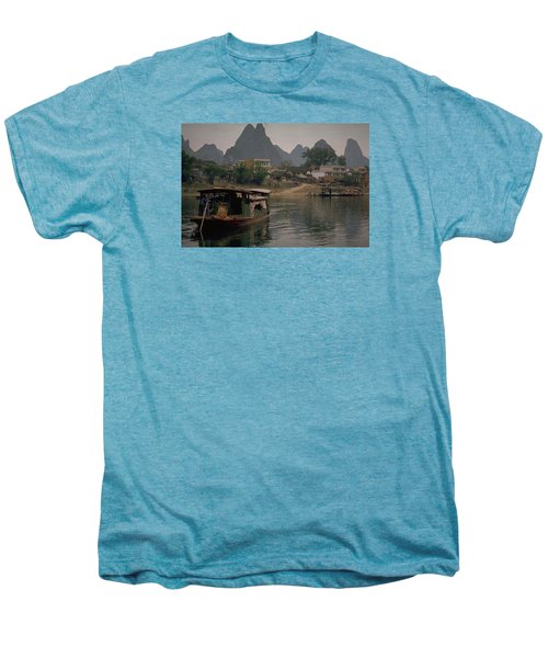 Guilin Limestone Peaks Men's Premium T-Shirt