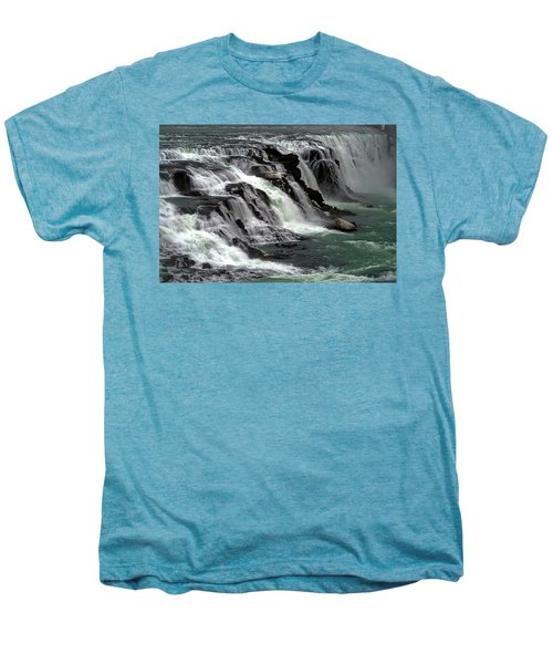 Gullfoss Waterfalls, Iceland Men's Premium T-Shirt