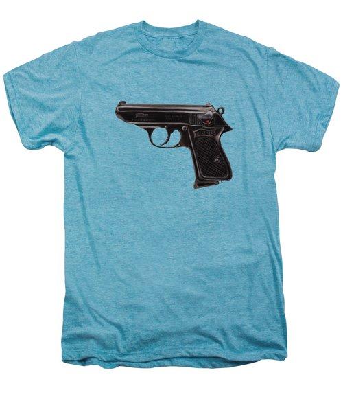 Gun - Pistol - Walther Ppk Men's Premium T-Shirt