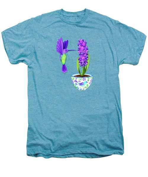 H Is For Hummingbird Men's Premium T-Shirt