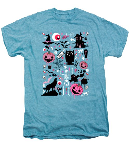 Halloween Night  Men's Premium T-Shirt by Mark Ashkenazi