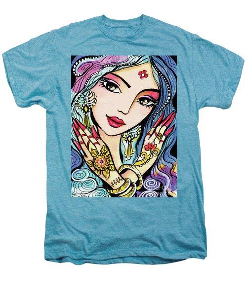 Hands Of India Men's Premium T-Shirt by Eva Campbell