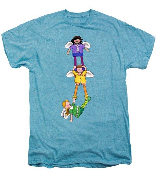 Hang In There Men's Premium T-Shirt by Sarah Batalka