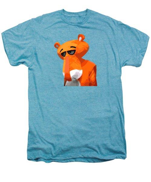 Happy Panther Men's Premium T-Shirt by Jirka Svetlik