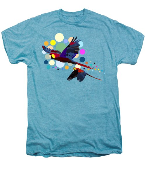 Happy Parrots Men's Premium T-Shirt