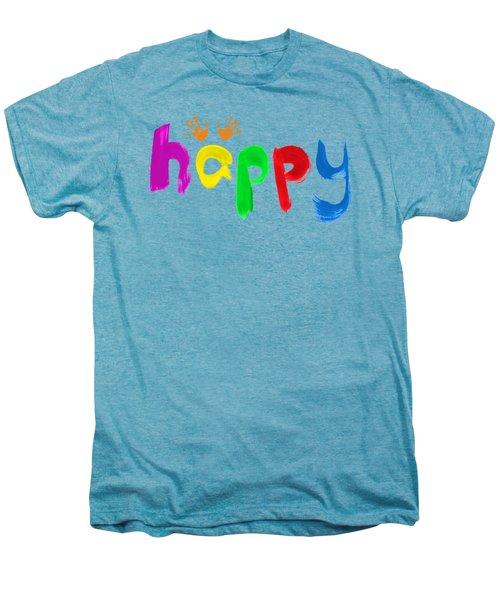 Happy Men's Premium T-Shirt