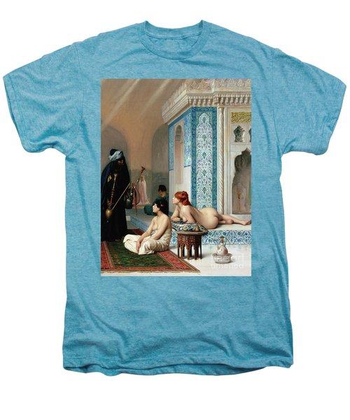 Harem Pool, Jean-leon Gerome Men's Premium T-Shirt