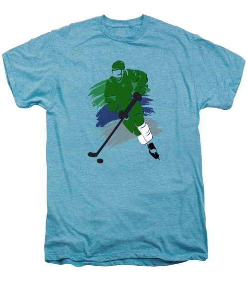 Hartford Whalers Player Shirt Men's Premium T-Shirt by Joe Hamilton