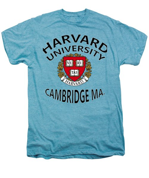 Harvard University Cambridge M A  Men's Premium T-Shirt