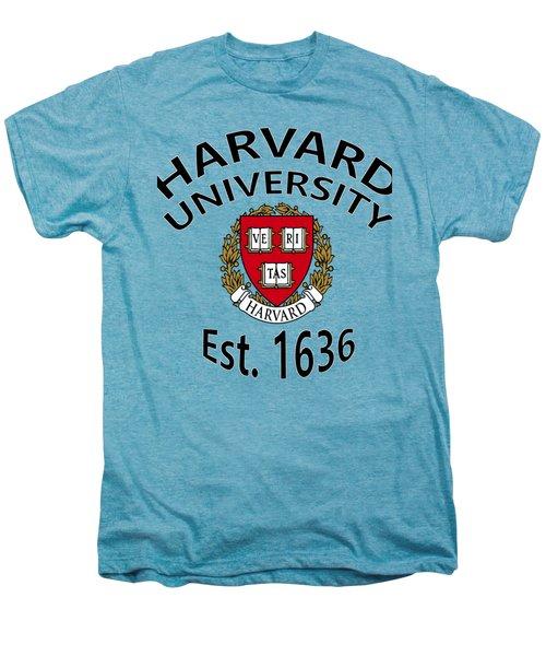 Harvard University Est 1636 Men's Premium T-Shirt by Movie Poster Prints