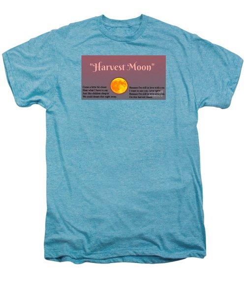Harvest Moon Song Men's Premium T-Shirt by John Malone