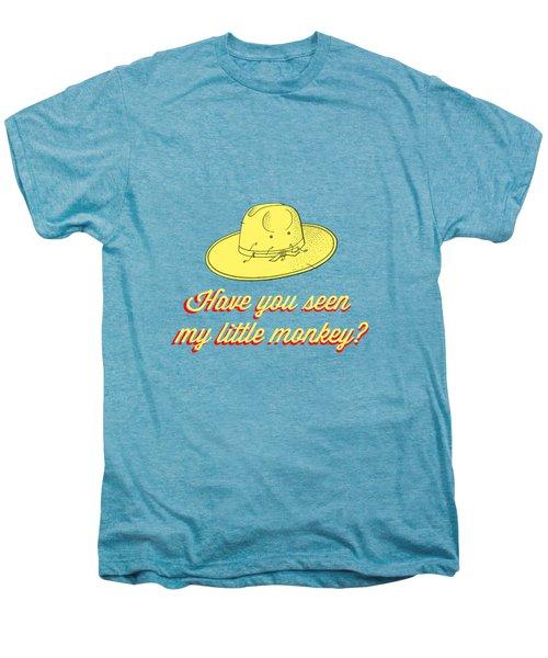 Have You Seen My Little Monkey Tee Men's Premium T-Shirt by Edward Fielding