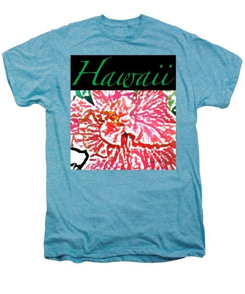 Hawaii Blush T-shirt Men's Premium T-Shirt by James Temple