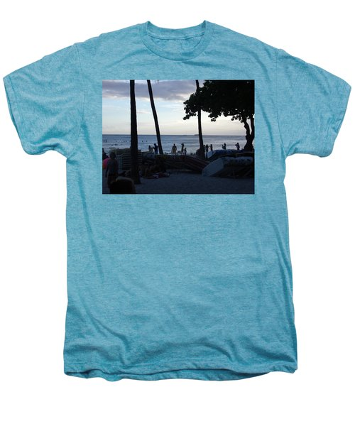 Hawaiian Afternoon Men's Premium T-Shirt