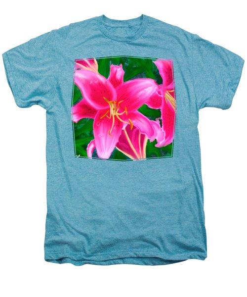 Hawaiian Flowers Men's Premium T-Shirt