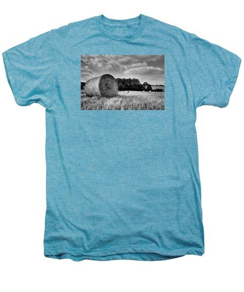 Hay Race Track Men's Premium T-Shirt by Jeremy Lavender Photography