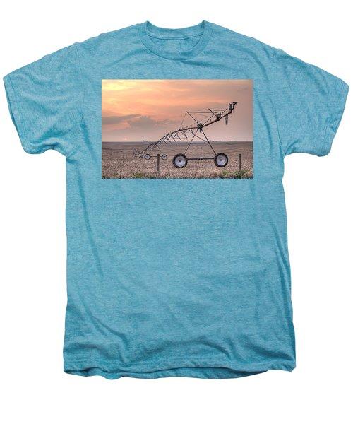 Hdr Sunset With Pivot Men's Premium T-Shirt