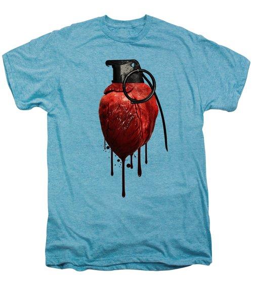 Heart Grenade Men's Premium T-Shirt