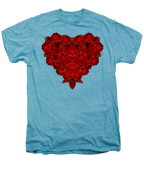 Heart Of Flowers T-shirt Men's Premium T-Shirt