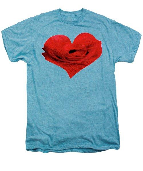 Heart Sketch Men's Premium T-Shirt
