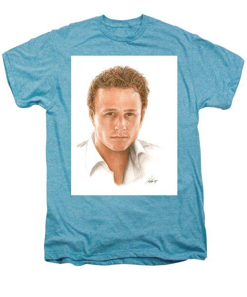 Heath Men's Premium T-Shirt by Bruce Lennon