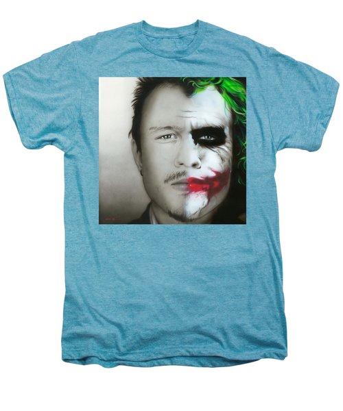 Heath Ledger / Joker Men's Premium T-Shirt