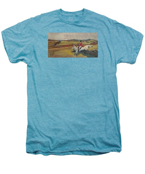 Hedge Hopping Britain Men's Premium T-Shirt
