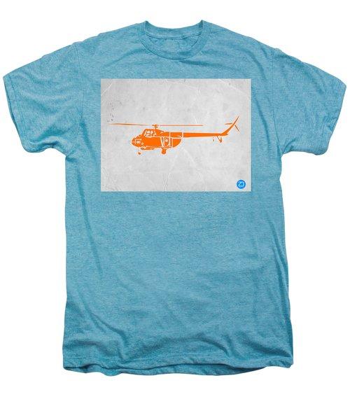 Helicopter Men's Premium T-Shirt by Naxart Studio