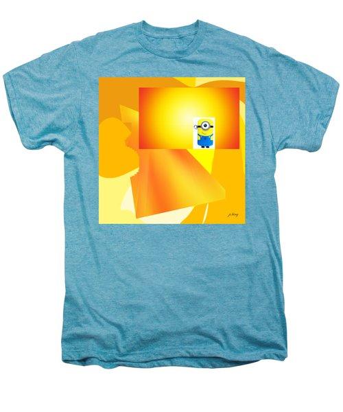 Hello Yellow Men's Premium T-Shirt