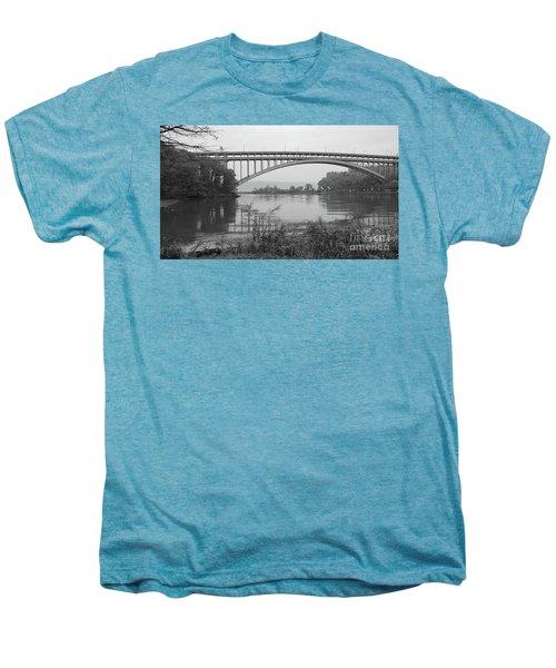 Henry Hudson Bridge  Men's Premium T-Shirt by Cole Thompson