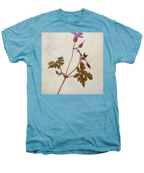 Herb Robert - Wild Geranium  #flower Men's Premium T-Shirt