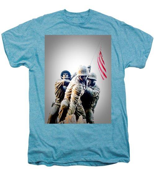 Heroes Men's Premium T-Shirt by Julie Niemela
