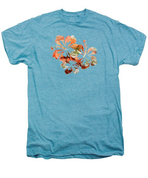 Hibiscus Flowers Men's Premium T-Shirt by Art Spectrum