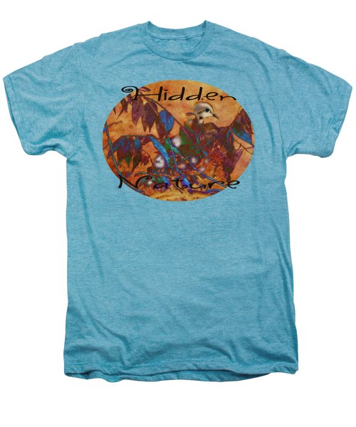 Hidden Nature - Abstract Men's Premium T-Shirt by Anita Faye