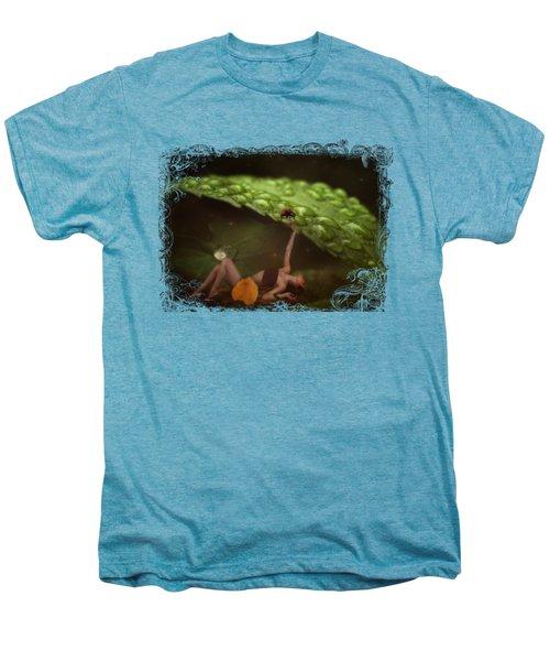 Hiding From The Storm Men's Premium T-Shirt