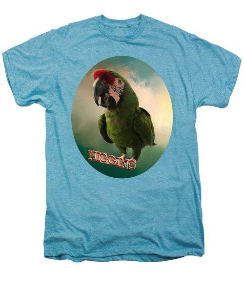 Higgins Men's Premium T-Shirt by Zazu's House Parrot Sanctuary