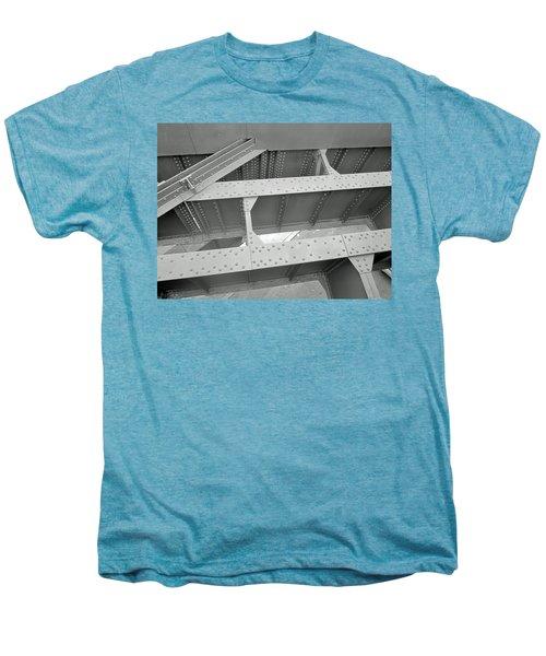 High Line Detail Men's Premium T-Shirt by Sandy Taylor