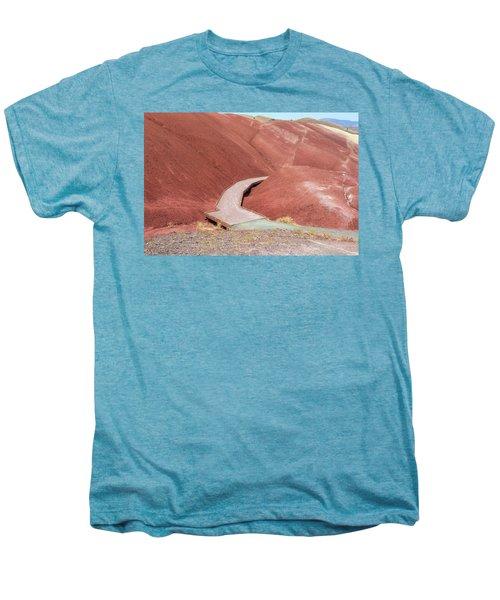 Hiking Loop Boardwalk At Painted Hills Cove Men's Premium T-Shirt