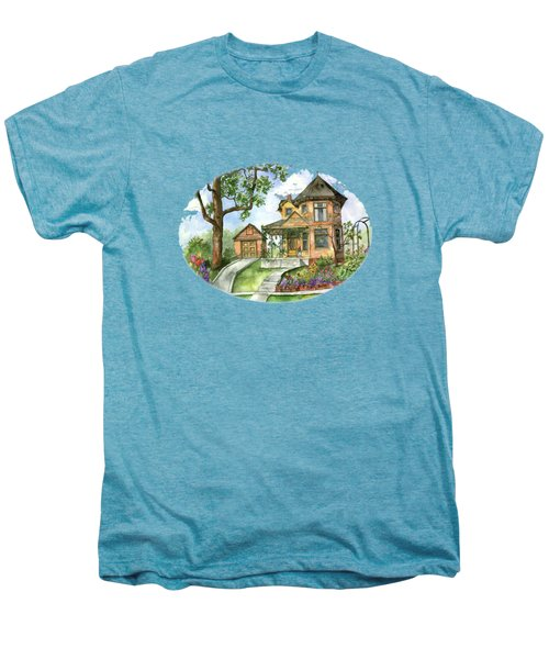 Hilltop Home Men's Premium T-Shirt by Shelley Wallace Ylst